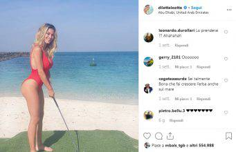 Diletta Leotta, un bello scatto su Instagram