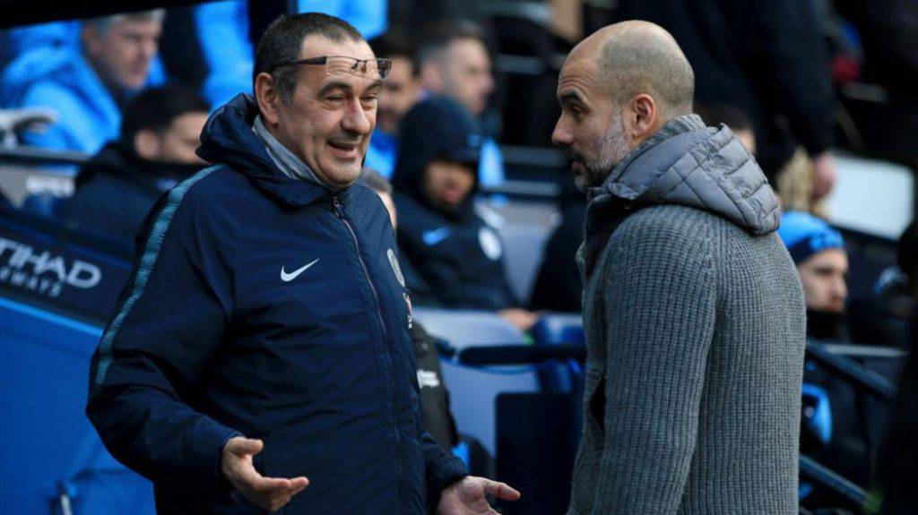 Guardiola, Sarri (Getty Images)