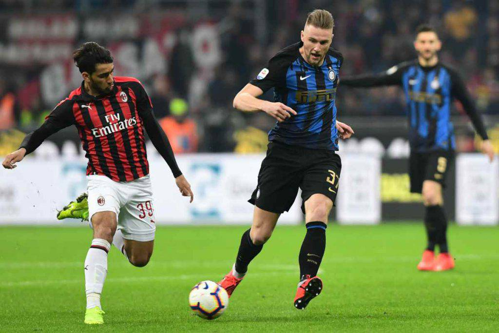 Skriniar, Paqueta (Getty Images)